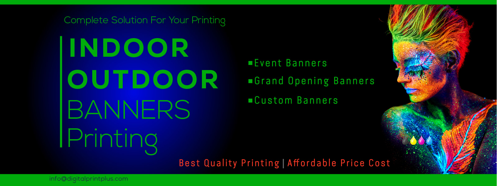 Indoor Outdoor Banner Printing